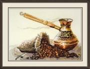 Набор для вышивания  Запах кофе
