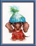 Набор для вышивания  Грустный собак