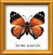 Набор для вышивания  Бабочка Нимфалида