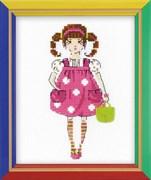 Набор для вышивания  Куколка
