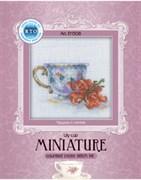 Набор для вышивания  Миниатюра - Чашка и лилия