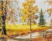 Набор для рисования по номерам  Золотая осень