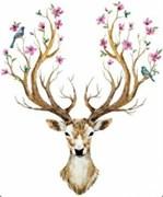 Набор для рисования по номерам  Чудесный олень