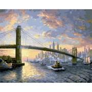 Набор для рисования по номерам  Бруклинский мост