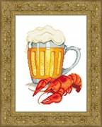 Набор для вышивания  Пиво Пенное