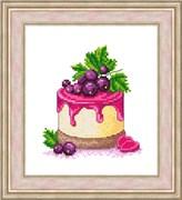 Набор для вышивания  Десерт со смородиной