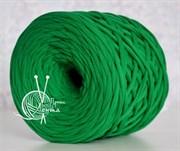 Пряжа  Лента  цвет зеленый