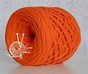 Пряжа  Лента  цвет оранжевый