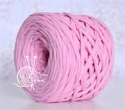 Пряжа  Лента  цвет розовый