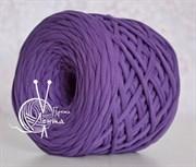 Пряжа  Лента  цвет фиолетовый
