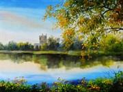 Набор для вышивания  Осенний пруд