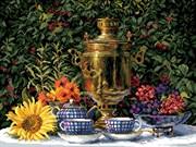 Набор для вышивания  Приготовления к чаю