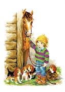 Набор для вышивания  На конюшне