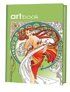 Записная книжка-раскраска ARTbook. Арт-нуво