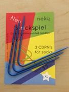 Спицы вязальные пластик XL 5,5 мм
