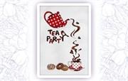 Набор для вышивания  Чайная вечеринка