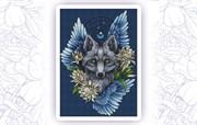 Набор для вышивания  Ловец снов. Волк