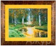 Набор для вышивания  Золотая осень. Тихая речка
