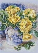 Набор для вышивания  Желтые розы