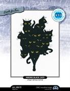 Набор для вышивания  Среди черных котов 3