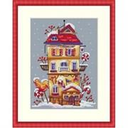 Набор для вышивания  Зимний домик