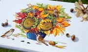 Набор для вышивания  Осенний букет с подсолнухами