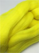 Шерсть для валяния  Камтекс , 029 яркий лимон