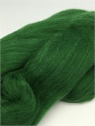 Шерсть для валяния  Камтекс 110 зеленый