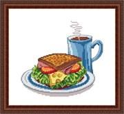 Набор для вышивания  Отличный завтрак