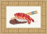 Набор для вышивания Суши с креветкой