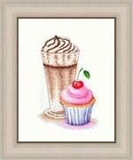 Набор для вышивания  Вишневый кекс