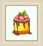 Набор для вышивания  Десерт с крыжовником