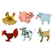Набор пуговиц  Farm Animals