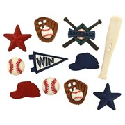 Набор пуговиц  Baseball