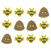 Набор пуговиц  Sew Cute Bumble Bees