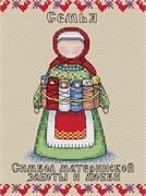 Набор для вышивания  Славянский оберег. Семья