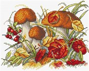 Набор для вышивания  Дары осеннего леса