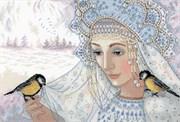 Набор для вышивания  Зимняя царица