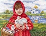 Набор для вышивания  Пасхальный кролик