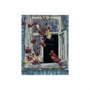 Набор для вышивания  Старое окно