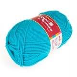 Пряжа  Юбилейная , цвет: голубая бирюза