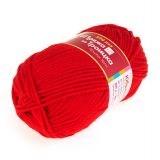 Пряжа  Юбилейная , цвет: красный