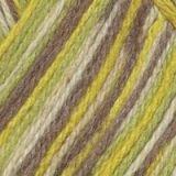 Пряжа  Подмосковная  цвет желтый, белый, бежевый, зеленый