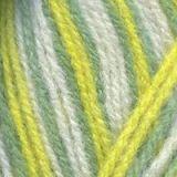 Пряжа  Подмосковная  цвет желтый, голубой, зеленый