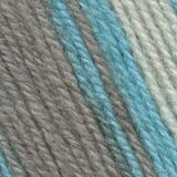 Пряжа  Подмосковная  цвет белый, голубой, серый