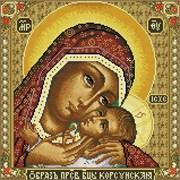Картина стразами  Икона Божией матери Корсунская
