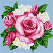 Картина стразами  Розовые розы