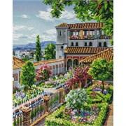 Картина стразами  Сады Гранады