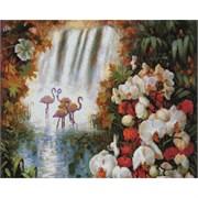 Картина стразами  Райский сад