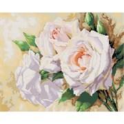 Картина стразами  Розовое трио